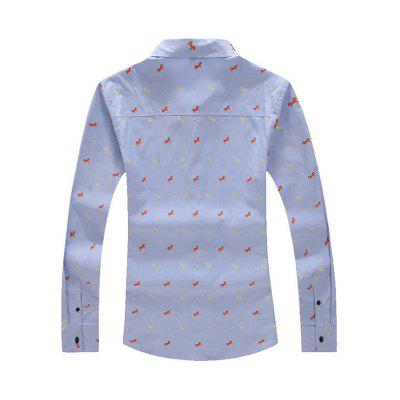 Small Animal Points Style Men Long-sleeved T-shirtMens Shirts<br>Small Animal Points Style Men Long-sleeved T-shirt<br><br>Package Contents: 1 x Long-sleeved T-shirt, 1 x Packaging Bag<br>Package size: 40.00 x 30.00 x 4.00 cm / 15.75 x 11.81 x 1.57 inches<br>Package weight: 0.4200 kg<br>Product weight: 0.3800 kg