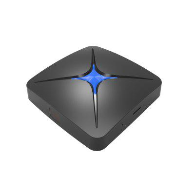 T96 PRO T96N+ RK3328 TV BoxTV Box<br>T96 PRO T96N+ RK3328 TV Box<br><br>Audio format: OGG, AAC, FLAC, MP3, RM, WMA<br>Brand: T96 PRO<br>Core: Quad Core, 1.5GHz<br>CPU: ARM Cortex-A53<br>Decoder Format: H.265, H.264, H.263, HD MPEG4<br>External Subtitle Supported: No<br>GPU: Mali-450MP2<br>HDMI Function: HDCP<br>HDMI Version: 2.0<br>Interface: TF card, SPDIF, HDMI, LAN, USB2.0, USB3.0, AV<br>Language: English,Japanese,Multi-language,Spanish<br>Max. Extended Capacity: TF card up to 64GB (not included)<br>Model: T96N+<br>Other Functions: PAL, NTSC, Miracast, ISO Files, 3D Video, 3D Games, DLNA<br>Package Contents: 1 x TV Box, 1 x Remote Control, 1 x Power Adapter, 1 x HDMI Cable, 1 x English User Manual<br>Package size (L x W x H): 18.00 x 12.00 x 4.00 cm / 7.09 x 4.72 x 1.57 inches<br>Package weight: 0.3500 kg<br>Photo Format: PNG, JPG, JPEG<br>Power Consumption.: 8W<br>Power Supply: Charge Adapter<br>Power Type: External Power Adapter Mode<br>Processor: RK3328<br>Product size (L x W x H): 10.00 x 10.00 x 1.80 cm / 3.94 x 3.94 x 0.71 inches<br>Product weight: 0.1030 kg<br>RAM: 2G RAM<br>RAM Type: DDR3<br>RJ45 Port Speed: 100M<br>ROM: 16G ROM<br>System: Android 7.1<br>System Activation: Yes<br>System Bit: 32Bit<br>Type: TV Box<br>Video format: ISO, WMV, MPG, MPEG, MP4, MOV, 4K, AVI, MKV<br>WiFi Chip: RTL8189