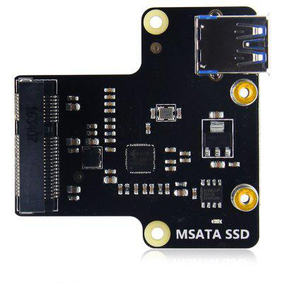 SupTronics X850 mSATA SSD Storage Expansion Board