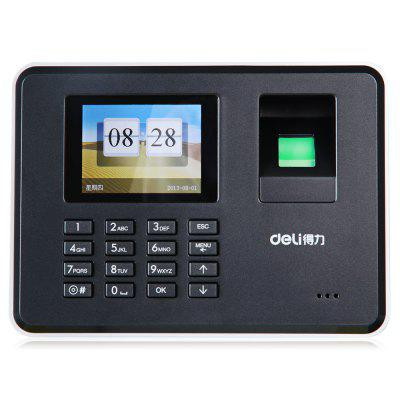 Deli 3947 Employee Payroll Password Time RecorderAttendance machine<br>Deli 3947 Employee Payroll Password Time Recorder<br><br>Brand: Deli<br>Features: Employee Payroll Recorder<br>Model: 3947<br>Package Contents: 1 x Deli 3947 Employee Payroll Recorder<br>Package size (L x W x H): 42.00 x 28.70 x 25.00 cm / 16.54 x 11.3 x 9.84 inches<br>Package weight: 0.9950 kg<br>Product size (L x W x H): 18.20 x 13.20 x 5.40 cm / 7.17 x 5.2 x 2.13 inches<br>Product weight: 0.8000 kg