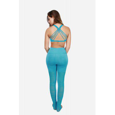 Female Elastic Slim Splicing Grenadine Pants for Yoga Energy SportsYoga<br>Female Elastic Slim Splicing Grenadine Pants for Yoga Energy Sports<br><br>Package Content: 1 x Sports Pants<br>Package size: 35.00 x 25.00 x 2.00 cm / 13.78 x 9.84 x 0.79 inches<br>Package weight: 0.2200 kg<br>Product weight: 0.1850 kg