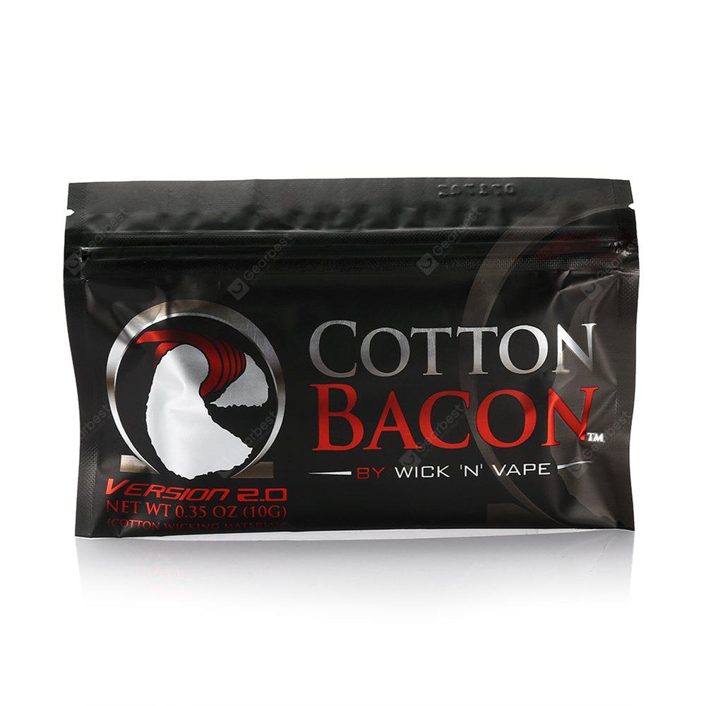 Buy 1Wick N Vape Cotton Bacon V2 Organic BLACK