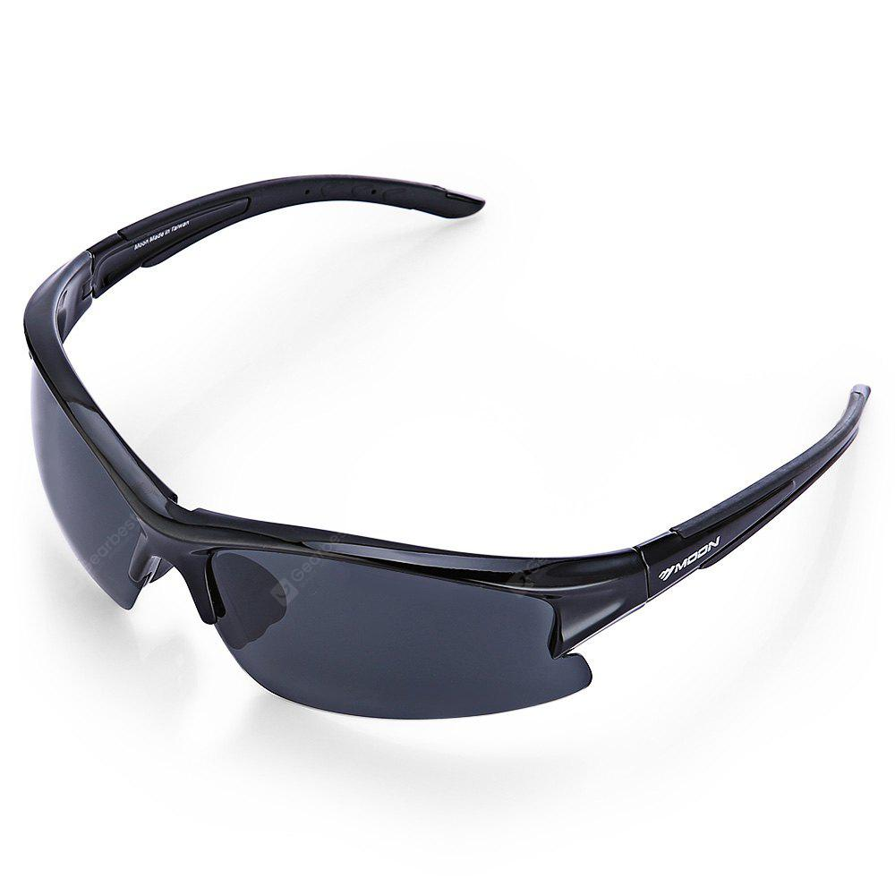 BLACK Protective 5-replaceable-lenses Polarized Cycling Glasses Set