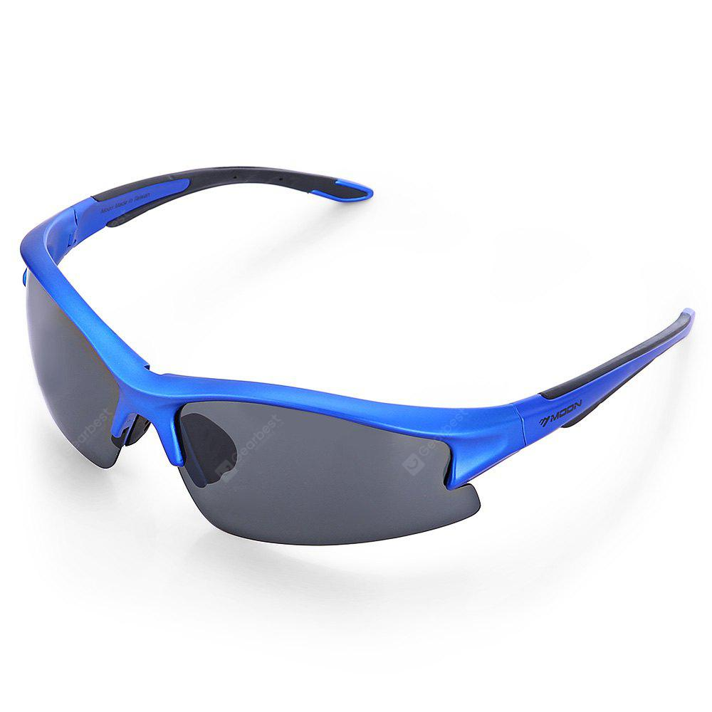 BLUE Protective 5-replaceable-lenses Polarized Cycling Glasses Set