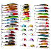 Proberos DWS480 48-piece Set ABS Plastic Fishing Lures - COLORMIX