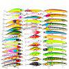 Proberos DWMI007 43-piece Set ABS Plastic Fishing Lures - COLORMIX