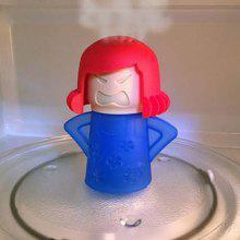 Creative Cute Angry Mom Rubber Microwave Steam Cleaner