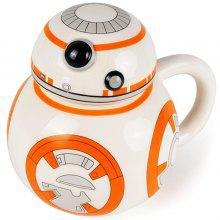 350ml Creative BB - 8 Robot Ceramic Cup