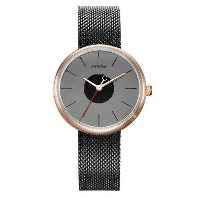 SINOBI 9700L Stainless Steel Band Women WatchWomens Watches<br>SINOBI 9700L Stainless Steel Band Women Watch<br><br>Band material: Stainless Steel, Stainless Steel<br>Band size: 21.5 x 1.5cm, 21.5 x 1.5cm<br>Brand: Sinobi<br>Case material: Alloy, Alloy<br>Clasp type: Pin buckle, Pin buckle<br>Dial size: 3.3 x 3.3 x 0.9cm, 3.3 x 3.3 x 0.9cm<br>Display type: Analog, Analog<br>Movement type: Quartz watch, Quartz watch<br>Package Contents: 1 x Watch, 1 x Box, 1 x Watch, 1 x Box<br>Package size (L x W x H): 28.00 x 8.00 x 3.50 cm / 11.02 x 3.15 x 1.38 inches, 28.00 x 8.00 x 3.50 cm / 11.02 x 3.15 x 1.38 inches<br>Package weight: 0.1100 kg, 0.1100 kg<br>Product size (L x W x H): 21.50 x 3.30 x 0.90 cm / 8.46 x 1.3 x 0.35 inches, 21.50 x 3.30 x 0.90 cm / 8.46 x 1.3 x 0.35 inches<br>Product weight: 0.0600 kg, 0.0600 kg<br>Shape of the dial: Round, Round<br>Watch mirror: Mineral glass, Mineral glass<br>Watch style: Fashion<br>Watches categories: Women<br>Water resistance : No, No