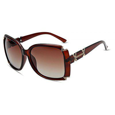 Diamond Embedded Classical Sunglasses for Women