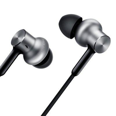 Gearbest Original Xiaomi Pro HD In-ear Hybrid Earphones - SILVER Dual Dynamic and Balanced Armature Drivers / 3.5mm Jack Wired Control / Microphone Phone Call