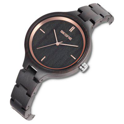 SKONE 7433 Exquisite Wood Band Men Quartz WatchMens Watches<br>SKONE 7433 Exquisite Wood Band Men Quartz Watch<br><br>Band material: Wood<br>Band size: 20.5 x 2cm<br>Brand: Skone<br>Case material: Wood<br>Clasp type: Sheet folding clasp<br>Dial size: 3.75 x 3.75 x 0.85cm<br>Display type: Analog<br>Movement type: Quartz watch<br>Package Contents: 1 x Watch, 1 x Box<br>Package size (L x W x H): 10.15 x 7.50 x 6.55 cm / 4 x 2.95 x 2.58 inches<br>Package weight: 0.1120 kg<br>Product size (L x W x H): 20.50 x 3.75 x 0.85 cm / 8.07 x 1.48 x 0.33 inches<br>Product weight: 0.0280 kg<br>Shape of the dial: Round<br>Watch mirror: Mineral glass<br>Watch style: Fashion<br>Watches categories: Men