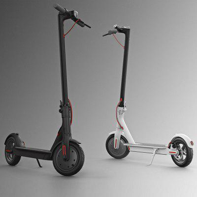 Original Xiaomi M365 Folding Electric ScooterKick Scooter<br>Original Xiaomi M365 Folding Electric Scooter<br><br>Battery: 18650 lithium-ion battery pack<br>Battery Capacity: 280Wh<br>Braking Distance: 4 meters<br>Brand: Xiaomi<br>Charger type: Chinese Plug<br>Charging Time: 5.5 Hours<br>Color: Black,White<br>Folding Type: Folding<br>For: Adults<br>Light: Front Lamp,Tail Light<br>Material: Aluminum Alloy<br>Max Payload: 100kg<br>Maximum Mileage: 30km<br>Maximum Speed: 25km/h<br>Mileage (depends on road and driver weight): Above 20km<br>Model Number: M365<br>Motor Rated Power: 250W<br>Package Content: 1 x Original Xiaomi M365 Electric Scooter, 1 x Charger<br>Package size: 115.00 x 54.00 x 20.00 cm / 45.28 x 21.26 x 7.87 inches<br>Package weight: 17.0000 kg<br>Pedal Ground Clearance (no weight bearing): 87.5mm<br>Permissible Gradient (depends on your weight): 10-15 degree<br>Product size: 108.00 x 43.00 x 49.00 cm / 42.52 x 16.93 x 19.29 inches<br>Product weight: 12.5000 kg<br>Seat Type: without Seat<br>Type: Electric Kick Scooter<br>Wheel Number: 2 Wheel