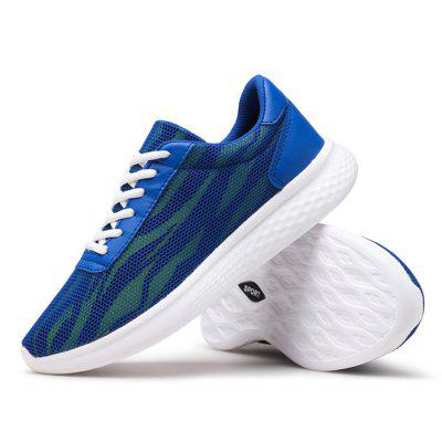 Male Breathable Light Lace Up Running SneakersAthletic Shoes<br>Male Breathable Light Lace Up Running Sneakers<br><br>Closure Type: Lace-Up<br>Contents: 1 x Pair of Shoes<br>Lining Material: Mesh<br>Materials: Mesh, Woven Fabric, MD<br>Occasion: Sports, Soccer, Shopping, Riding, Outdoor Clothing, Holiday, Daily, Casual, Running<br>Outsole Material: MD<br>Package Size ( L x W x H ): 32.00 x 22.00 x 11.00 cm / 12.6 x 8.66 x 4.33 inches<br>Package Weights: 0.91kg<br>Seasons: Autumn,Spring<br>Style: Modern, Leisure, Fashion, Comfortable, Casual<br>Toe Shape: Round Toe<br>Type: Sports Shoes<br>Upper Material: Woven Fabric