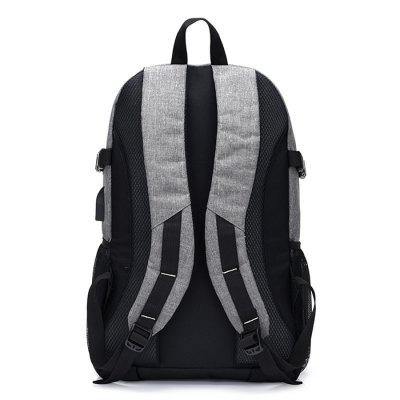 Men Leisure Computer Backpack with USB PortBackpacks<br>Men Leisure Computer Backpack with USB Port<br><br>Features: Wearable<br>Gender: Men<br>Material: Polyester<br>Package Size(L x W x H): 50.00 x 31.00 x 3.00 cm / 19.69 x 12.2 x 1.18 inches<br>Package weight: 0.7600 kg<br>Packing List: 1 x Backpack<br>Product weight: 0.7500 kg<br>Style: Casual, Fashion<br>Type: Backpacks