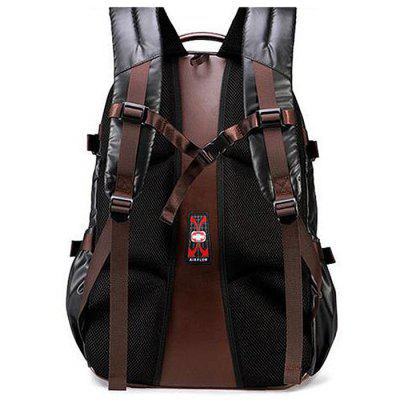 Men Chic Business Water-resistant Computer BackpackBackpacks<br>Men Chic Business Water-resistant Computer Backpack<br><br>Features: Wearable<br>Gender: Men<br>Material: PU<br>Package Size(L x W x H): 40.00 x 30.00 x 13.00 cm / 15.75 x 11.81 x 5.12 inches<br>Package weight: 0.8600 kg<br>Packing List: 1 x Backpack<br>Product weight: 0.8500 kg<br>Style: Business, Fashion<br>Type: Backpacks