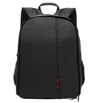 Stylish Water-resistant Camera Backpack for Canon / NikonBackpacks<br>Stylish Water-resistant Camera Backpack for Canon / Nikon<br><br>Features: Wearable<br>Gender: Men<br>Material: Nylon<br>Package Size(L x W x H): 26.00 x 16.00 x 35.00 cm / 10.24 x 6.3 x 13.78 inches<br>Package weight: 0.6000 kg<br>Packing List: 1 x Camera Backpack<br>Product Size(L x W x H): 25.00 x 15.00 x 34.00 cm / 9.84 x 5.91 x 13.39 inches<br>Product weight: 0.5800 kg<br>Style: Casual, Fashion<br>Type: Backpacks