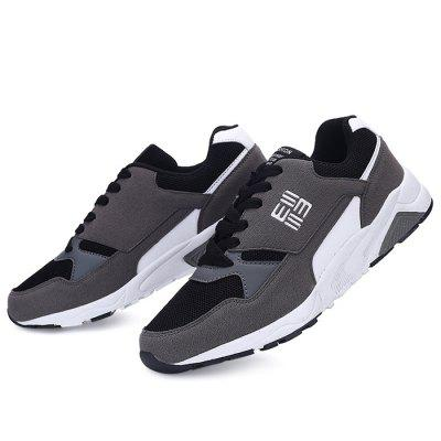 Male Breathable Stylish Split Joint SneakersAthletic Shoes<br>Male Breathable Stylish Split Joint Sneakers<br><br>Closure Type: Lace-Up, Lace-Up<br>Contents: 1 x Pair of Shoes, 1 x Pair of Shoes<br>Decoration: Split Joint, Split Joint<br>Function: Slip Resistant, Slip Resistant<br>Lining Material: Mesh, Mesh<br>Materials: Rubber, Rubber, Microfiber, Mesh<br>Occasion: Daily, Sports, Shopping, Running, Party, Sports, Party, Daily, Casual, Outdoor Clothing, Basketball, Running, Holiday, Holiday, Casual, Shopping, Basketball, Outdoor Clothing<br>Outsole Material: Rubber, Rubber<br>Package Size ( L x W x H ): 32.00 x 22.00 x 11.00 cm / 12.6 x 8.66 x 4.33 inches, 32.00 x 22.00 x 11.00 cm / 12.6 x 8.66 x 4.33 inches<br>Package Weights: 1.04kg, 1.04kg<br>Seasons: Autumn,Spring, Autumn,Spring<br>Style: Modern, Casual, Comfortable, Fashion, Leisure, Comfortable, Leisure, Casual, Modern, Fashion<br>Toe Shape: Round Toe, Round Toe<br>Type: Sports Shoes<br>Upper Material: Mesh,Microfiber, Mesh,Microfiber