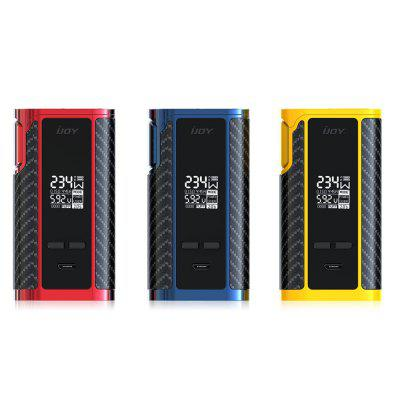 IJOY Captain PD270 234W Box ModTemperature Control Mods<br>IJOY Captain PD270 234W Box Mod<br><br>510 Connector Type: manual<br>Accessories type: MOD<br>APV Mod Wattage: 234W<br>APV Mod Wattage Range: Over 200W<br>Atomizer Connector Diameter: 30mm<br>Battery Cover Type: Clip-on<br>Battery Form Factor: 20700<br>Battery Quantity: 2pcs<br>Brand: IJOY<br>Charge way: USB<br>Material: Zinc Alloy<br>Mod: Temperature Control Mod,VV/VW Mod<br>Model: Captain PD270<br>Package Contents: 1 x IJOY Captain PD270 234W Box Mod, 2 x IJOY 20700 Battery, 1 x 18650 Adapter, 1 x USB Cable, 1 x English User Manual<br>Package size (L x W x H): 12.00 x 8.00 x 5.00 cm / 4.72 x 3.15 x 1.97 inches<br>Package weight: 0.4770 kg<br>Product size (L x W x H): 8.90 x 4.80 x 3.20 cm / 3.5 x 1.89 x 1.26 inches<br>Product weight: 0.2430 kg<br>Temperature Control Range: 300 - 600 Deg.F