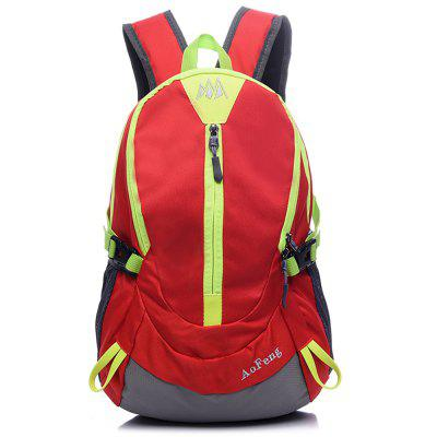 AOFENG Men Outdoor Chic Multifunctional BackpackBackpacks<br>AOFENG Men Outdoor Chic Multifunctional Backpack<br><br>Brand: AOFENG<br>Features: Wearable<br>Gender: Men<br>Material: Polyester, Nylon<br>Package Size(L x W x H): 42.00 x 27.00 x 3.30 cm / 16.54 x 10.63 x 1.3 inches<br>Package weight: 0.2700 kg<br>Packing List: 1 x AOFENG Backpack<br>Product weight: 0.2500 kg<br>Style: Fashion, Casual<br>Type: Backpacks