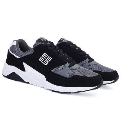 Male Breathable Stylish Split Joint SneakersAthletic Shoes<br>Male Breathable Stylish Split Joint Sneakers<br><br>Closure Type: Lace-Up<br>Contents: 1 x Pair of Shoes<br>Decoration: Split Joint<br>Function: Slip Resistant<br>Lining Material: Mesh<br>Materials: Rubber, Microfiber, Mesh<br>Occasion: Sports, Shopping, Running, Party, Basketball, Casual, Daily, Holiday, Outdoor Clothing<br>Outsole Material: Rubber<br>Package Size ( L x W x H ): 32.00 x 22.00 x 11.00 cm / 12.6 x 8.66 x 4.33 inches<br>Package Weights: 1.04kg<br>Seasons: Autumn,Spring<br>Style: Modern, Leisure, Fashion, Comfortable, Casual<br>Toe Shape: Round Toe<br>Type: Sports Shoes<br>Upper Material: Mesh,Microfiber