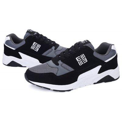 Masculino respirável Stylish Split Joint Athletic Shoes