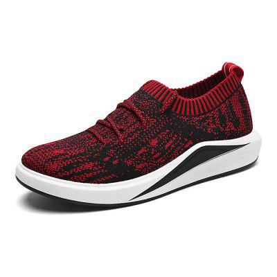 Male Breathable Soft Anti Slip Running SneakersAthletic Shoes<br>Male Breathable Soft Anti Slip Running Sneakers<br><br>Closure Type: Lace-Up<br>Contents: 1 x Pair of Shoes<br>Decoration: Weave<br>Function: Slip Resistant<br>Lining Material: Cotton Fabric<br>Materials: Woven Fabric, Rubber, Fabric<br>Occasion: Sports, Shopping, Running, Riding, Party, Outdoor Clothing, Casual, Daily, Holiday<br>Outsole Material: Rubber<br>Package Size ( L x W x H ): 32.00 x 22.00 x 11.00 cm / 12.6 x 8.66 x 4.33 inches<br>Package Weights: 1.00kg<br>Pattern Type: Stripe<br>Seasons: Autumn,Spring<br>Style: Modern, Leisure, Fashion, Comfortable, Casual<br>Toe Shape: Round Toe<br>Type: Sports Shoes<br>Upper Material: Woven Fabric