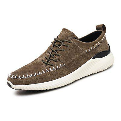 Male Stylish Wearable Breathable Anti Slip Leisure ShoesCasual Shoes<br>Male Stylish Wearable Breathable Anti Slip Leisure Shoes<br><br>Closure Type: Lace-Up, Lace-Up<br>Contents: 1 x Pair of Shoes, 1 x Pair of Shoes<br>Function: Slip Resistant, Slip Resistant<br>Lining Material: Mesh, Mesh<br>Materials: Leather, Mesh, Rubber<br>Occasion: Office, Shopping, Tea Party, Party, Holiday, Daily, Casual<br>Outsole Material: Rubber, Rubber<br>Package Size ( L x W x H ): 32.00 x 22.00 x 11.00 cm / 12.6 x 8.66 x 4.33 inches, 32.00 x 22.00 x 11.00 cm / 12.6 x 8.66 x 4.33 inches<br>Package Weights: 1.08kg, 1.08kg<br>Pattern Type: Solid<br>Seasons: Autumn,Spring<br>Style: Leisure, Fashion, Comfortable, Casual, Modern<br>Toe Shape: Round Toe, Round Toe<br>Type: Casual Leather Shoes<br>Upper Material: Leather, Leather