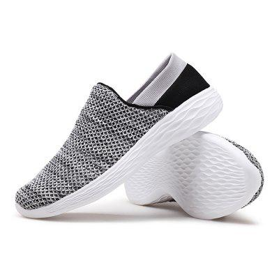 Male Breathable Soft Flat Slip On Leisure ShoesCasual Shoes<br>Male Breathable Soft Flat Slip On Leisure Shoes<br><br>Closure Type: Slip-On<br>Contents: 1 x Pair of Shoes<br>Lining Material: Mesh<br>Materials: Mesh, Woven Fabric, MD<br>Occasion: Tea Party, Shopping, Party, Office, Holiday, Daily, Casual, Outdoor Clothing<br>Outsole Material: MD<br>Package Size ( L x W x H ): 32.00 x 22.00 x 11.00 cm / 12.6 x 8.66 x 4.33 inches<br>Package Weights: 0.82kg<br>Pattern Type: Solid<br>Seasons: Autumn,Spring<br>Style: Modern, Leisure, Fashion, Comfortable, Casual<br>Toe Shape: Round Toe<br>Type: Casual Shoes<br>Upper Material: Woven Fabric