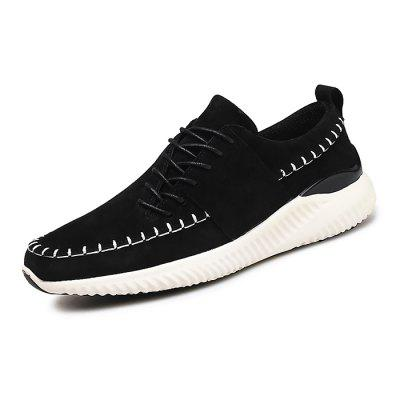 Male Stylish Wearable Breathable Anti Slip Leisure ShoesCasual Shoes<br>Male Stylish Wearable Breathable Anti Slip Leisure Shoes<br><br>Closure Type: Lace-Up<br>Contents: 1 x Pair of Shoes<br>Function: Slip Resistant<br>Lining Material: Mesh<br>Materials: Mesh, Rubber, Leather<br>Occasion: Tea Party, Shopping, Office, Casual, Party, Daily, Holiday<br>Outsole Material: Rubber<br>Package Size ( L x W x H ): 32.00 x 22.00 x 11.00 cm / 12.6 x 8.66 x 4.33 inches<br>Package Weights: 1.08kg<br>Pattern Type: Solid<br>Seasons: Autumn,Spring<br>Style: Modern, Leisure, Fashion, Comfortable, Casual<br>Toe Shape: Round Toe<br>Type: Casual Leather Shoes<br>Upper Material: Leather
