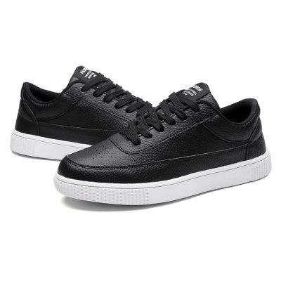 Male Simple Soft Sports Casual Leather ShoesCasual Shoes<br>Male Simple Soft Sports Casual Leather Shoes<br><br>Closure Type: Lace-Up<br>Contents: 1 x Pair of Shoes<br>Function: Slip Resistant<br>Materials: Rubber, Leather<br>Occasion: Tea Party, Sports, Shopping, Outdoor Clothing, Office, Holiday, Daily, Casual, Party<br>Outsole Material: Rubber<br>Package Size ( L x W x H ): 33.00 x 22.00 x 11.00 cm / 12.99 x 8.66 x 4.33 inches<br>Package Weights: 0.75kg<br>Pattern Type: Solid<br>Seasons: Autumn,Spring<br>Style: Modern, Leisure, Fashion, Comfortable, Casual<br>Toe Shape: Round Toe<br>Type: Casual Leather Shoes<br>Upper Material: Leather