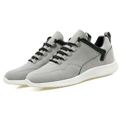 Buy GRAY Male Simple Soft Flat Anti Slip Leisure Casual Shoes for $35.73 in GearBest store