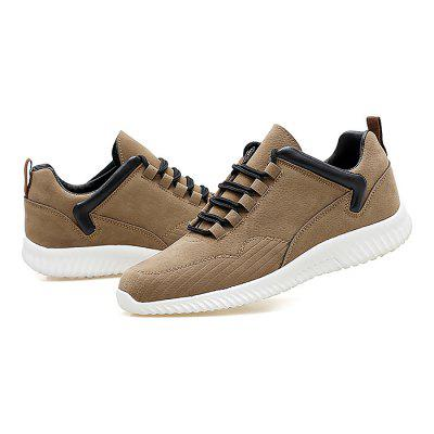 Male Simple Soft Flat Anti Slip Leisure ShoesCasual Shoes<br>Male Simple Soft Flat Anti Slip Leisure Shoes<br><br>Closure Type: Lace-Up<br>Contents: 1 x Pair of Shoes<br>Function: Slip Resistant<br>Lining Material: Mesh<br>Materials: Mesh, Rubber, Leather<br>Occasion: Tea Party, Shopping, Office, Casual, Party, Daily, Holiday<br>Outsole Material: Rubber<br>Package Size ( L x W x H ): 32.00 x 22.00 x 11.00 cm / 12.6 x 8.66 x 4.33 inches<br>Package Weights: 0.94kg<br>Pattern Type: Solid<br>Seasons: Autumn,Spring<br>Style: Modern, Leisure, Fashion, Comfortable, Casual<br>Toe Shape: Round Toe<br>Type: Casual Leather Shoes<br>Upper Material: Leather