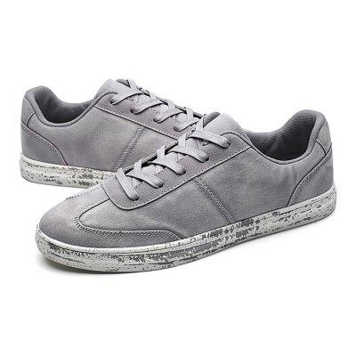 Male Casual Soft Solid Color Lace Up ShoesCasual Shoes<br>Male Casual Soft Solid Color Lace Up Shoes<br><br>Closure Type: Lace-Up<br>Contents: 1 x Pair of Shoes<br>Function: Slip Resistant<br>Lining Material: Mesh<br>Materials: Microfiber, Rubber, Suede, Mesh<br>Occasion: Tea Party, Shopping, Office, Casual, Party, Daily, Holiday<br>Outsole Material: Rubber<br>Package Size ( L x W x H ): 32.00 x 22.00 x 11.00 cm / 12.6 x 8.66 x 4.33 inches<br>Package Weights: 0.89kg<br>Pattern Type: Solid<br>Seasons: Autumn,Spring<br>Style: Modern, Leisure, Fashion, Comfortable, Casual<br>Toe Shape: Round Toe<br>Type: Casual Leather Shoes<br>Upper Material: Microfiber,Suede