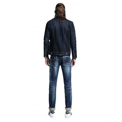 Men Casual Straight Regular Fit JeansMens Pants<br>Men Casual Straight Regular Fit Jeans<br><br>Material: Cotton, Spandex<br>Package Contents: 1 x Men Pants<br>Package size: 30.00 x 35.00 x 2.00 cm / 11.81 x 13.78 x 0.79 inches<br>Package weight: 0.5500 kg<br>Product weight: 0.5000 kg