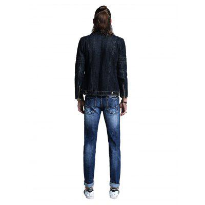 Casual Fashion Straight Regular Fit JeansMens Pants<br>Casual Fashion Straight Regular Fit Jeans<br><br>Material: Cotton, Spandex<br>Package Contents: 1 x Men Pants<br>Package size: 30.00 x 35.00 x 2.00 cm / 11.81 x 13.78 x 0.79 inches<br>Package weight: 0.5500 kg<br>Product weight: 0.5000 kg