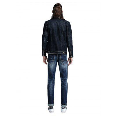Men Fashion Straight Regular Fit JeansMens Pants<br>Men Fashion Straight Regular Fit Jeans<br><br>Material: Cotton, Spandex<br>Package Contents: 1 x Men Pants<br>Package size: 30.00 x 35.00 x 2.00 cm / 11.81 x 13.78 x 0.79 inches<br>Package weight: 0.5400 kg<br>Product weight: 0.5000 kg