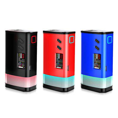 Original Sigelei Fuchai GLO 230W TC Box ModTemperature Control Mods<br>Original Sigelei Fuchai GLO 230W TC Box Mod<br><br>Accessories type: MOD<br>APV Mod Wattage: 230W<br>APV Mod Wattage Range: Over 200W<br>Battery Form Factor: 18650<br>Battery Quantity: 2pcs ( not included )<br>Brand: Sigelei<br>Material: Zinc Alloy, Aluminum Alloy<br>Mod: Temperature Control Mod,VV/VW Mod<br>Model: Fuchai GLO 230W<br>Package Contents: 1 x VW / TC Mod, 1 x USB Cable, 1 x English User Manual<br>Package size (L x W x H): 15.00 x 9.00 x 6.00 cm / 5.91 x 3.54 x 2.36 inches<br>Package weight: 0.3100 kg<br>Product size (L x W x H): 8.80 x 4.73 x 3.23 cm / 3.46 x 1.86 x 1.27 inches<br>Product weight: 0.2000 kg<br>Temperature Control Range: 100 - 300 Deg.C / 200 - 570 Deg.F<br>Type: Electronic Cigarettes Accessories