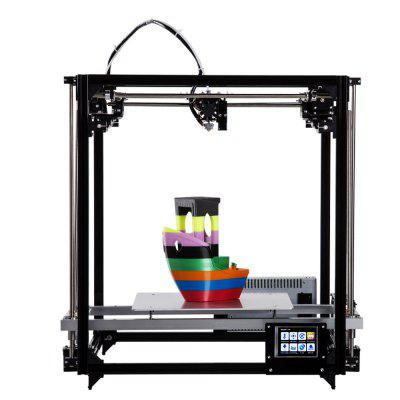FLSUN FL - C Cube Simply Equipped Frame 3D Printer Kit3D Printers, 3D Printer Kits<br>FLSUN FL - C Cube Simply Equipped Frame 3D Printer Kit<br><br>Brand: FLSUN<br>Engraving Area: 500 x 500 x 600mm<br>File format: G-code, OBJ, STL<br>Frame material: Aluminum<br>Host computer software: Cura,Repetier-Host<br>Layer thickness: 0.05-0.4mm<br>LCD Screen: Yes<br>Material diameter: 1.75mm<br>Memory card offline print: SD card<br>Model: FL - C<br>Nozzle diameter: 0.4mm<br>Nozzle quantity: Single<br>Package size: 80.00 x 38.00 x 16.00 cm / 31.5 x 14.96 x 6.3 inches<br>Package weight: 13.0000 kg<br>Packing Contents: 1 x 3D Printer, 1 x Assembly Part, 1 x English User Manual<br>Print speed: 20 - 150mm/s<br>Product forming size: 260 x 260 x 350mm<br>Product size: 50.00 x 50.00 x 60.00 cm / 19.69 x 19.69 x 23.62 inches<br>Product weight: 11.5000 kg<br>Supporting material: Wood, ABS, HIPS, PLA<br>Type: DIY<br>Voltage: 12V<br>Voltage Range: 100 - 230V<br>Working Power: 360W