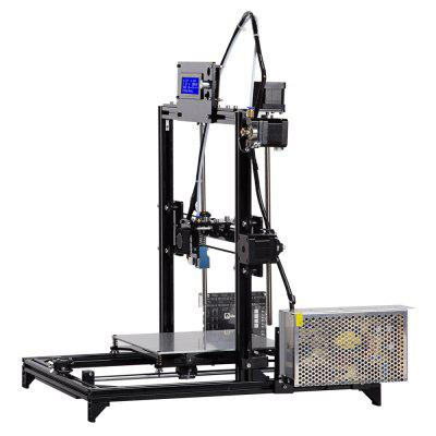 FLSUN FL - M I3 Aluminum Frame 3D Printer Kit3D Printers, 3D Printer Kits<br>FLSUN FL - M I3 Aluminum Frame 3D Printer Kit<br><br>Brand: FLSUN<br>Engraving Area: 460 x 400 x 420mm<br>File format: G-code, STL<br>Frame material: Aluminum<br>Host computer software: Cura,Repetier-Host<br>Layer thickness: 0.05-0.4mm<br>LCD Screen: Yes<br>Material diameter: 1.75mm<br>Model: FL - M I3<br>Nozzle quantity: Single<br>Package size: 53.00 x 23.00 x 29.00 cm / 20.87 x 9.06 x 11.42 inches<br>Package weight: 8.5000 kg<br>Packing Contents: 1 x 3D Printer, 1 x Assembly Part, 1 x English User Manual<br>Print speed: 20 - 150mm/s<br>Product forming size: 200 x 200 x 200mm<br>Product size: 46.00 x 40.00 x 42.00 cm / 18.11 x 15.75 x 16.54 inches<br>Product weight: 7.0000 kg<br>Supporting material: Wood, PLA, ABS, HIPS<br>Type: DIY<br>Voltage Range: 110 - 230V
