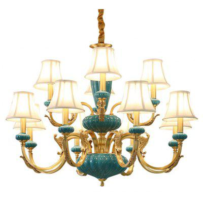 ZUOGE DJB1037 12 Branches E14 Base Chandelier 220V