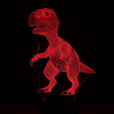Novelty Design RGB 3D LED Small Night Light DC 5V
