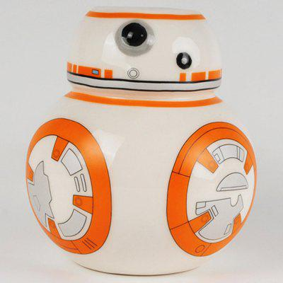 350ml Creative BB - 8 Robot Ceramic CupWater Cup &amp; Bottle<br>350ml Creative BB - 8 Robot Ceramic Cup<br><br>Material: Ceramics<br>Package Contents: 1 x Ceramic Cup, 1 x Cover<br>Package size (L x W x H): 15.00 x 11.00 x 15.00 cm / 5.91 x 4.33 x 5.91 inches<br>Package weight: 0.6850 kg<br>Product size (L x W x H): 11.00 x 11.00 x 15.50 cm / 4.33 x 4.33 x 6.1 inches<br>Product weight: 0.5850 kg<br>Style: Beauty, Fashion, Creative<br>Suitable for: Others, KTV, Home, Party<br>Type: Water