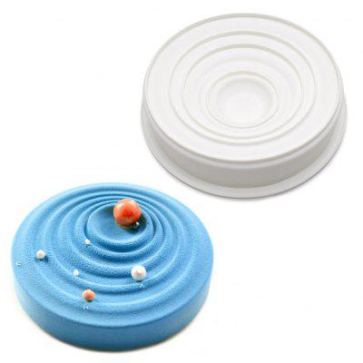 Silicone Pastry Baking Mold Tray Round WaveBaking &amp; Pastry Tools<br>Silicone Pastry Baking Mold Tray Round Wave<br><br> Product weight: 0.1500 kg<br>Available Color: White<br>Material: Silicone<br>Package Contents: 1 x Mold<br>Package size (L x W x H): 23.00 x 23.00 x 7.00 cm / 9.06 x 9.06 x 2.76 inches<br>Package weight: 0.2100 kg<br>Product size (L x W x H): 22.20 x 22.20 x 4.70 cm / 8.74 x 8.74 x 1.85 inches<br>Type: Bakeware
