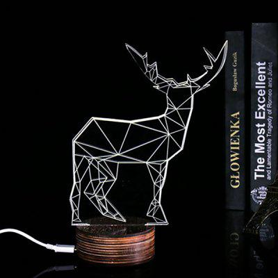 Deer Shape LED Night Light Bedside Lamp 220VNight Lights<br>Deer Shape LED Night Light Bedside Lamp 220V<br><br>Input Voltage: AC220<br>Numbers of LED: 5<br>Optional Light Color: Warm White<br>Package Contents: 1 x Night Lamp, 1 x USB Cable<br>Package size (L x W x H): 25.00 x 22.00 x 5.00 cm / 9.84 x 8.66 x 1.97 inches<br>Package weight: 0.3500 kg<br>Power: 0.5W<br>Power Supply: USB<br>Product size (L x W x H): 24.00 x 21.00 x 4.00 cm / 9.45 x 8.27 x 1.57 inches<br>Product weight: 0.3000 kg<br>Type: Night Light