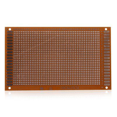 5PCS 9 x 15cm Single Side PCB Printed Circuit BoardDIY Parts &amp; Components<br>5PCS 9 x 15cm Single Side PCB Printed Circuit Board<br><br>Material: 94HB Bakelite Plate<br>Package Contents: 5 x PCB Printed Circuit Board<br>Package Size(L x W x H): 12.00 x 20.00 x 2.50 cm / 4.72 x 7.87 x 0.98 inches<br>Package weight: 0.1200 kg<br>Product Size(L x W x H): 9.00 x 15.00 x 0.12 cm / 3.54 x 5.91 x 0.05 inches<br>Product weight: 0.0980 kg