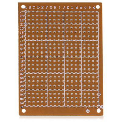 10PCS 5 x 7cm Single Side PCB Printed Circuit Board
