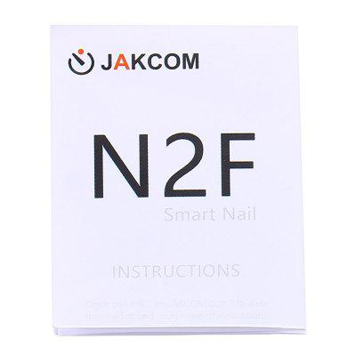 N2F Smart Nail Chip Support IC Card Copying FunctionDIY Parts &amp; Components<br>N2F Smart Nail Chip Support IC Card Copying Function<br><br>Material: PVC + Adhesive Sticker<br>Package Contents: 1 x N2F Smart Nail Chip, 6 x Fingernail Piece, 1 x English / Chinese User Manual<br>Package Size(L x W x H): 6.00 x 5.00 x 1.50 cm / 2.36 x 1.97 x 0.59 inches<br>Package weight: 0.0260 kg<br>Product Size(L x W x H): 1.20 x 0.70 x 0.01 cm / 0.47 x 0.28 x 0 inches<br>Product weight: 0.0020 kg<br>Type: Chip