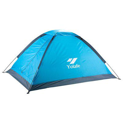 Yolafe Outdoor Portable Two Persons Single Layer Tent