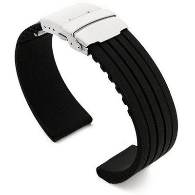 Silicone Band Strap Anti-Water Design Wristband